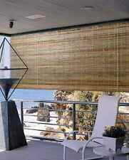 Laguna Roll-Up Bamboo Blind in Natural Finish [ID 376530]
