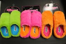 DOLLHOUSE SLIPPER 5-6 6.5-7.5 8-9 9.5-10.5 PADDED BOTTOM PINK ORANGE SKY BLUE