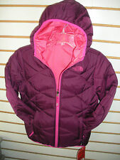THE NORTH FACE GIRLS REVERSIBLE PERRITO POLYFILL JACKET-P PURPLE-XS,S,M,L,XL-NEW