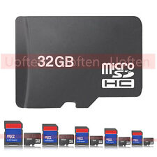 MicroSD TF Flash Memory Card Micro SD SDHC 32GB/16GB/8GB/4GB/2GB SD Adapter lot