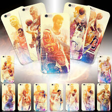 Basketball star Pattern PC Hard Case Cover For iPhone 4/5/6 Samsung S3 Note 2/3