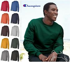 Champion Mens Blank Eco Crewneck Sweatshirt S600 S-3XL
