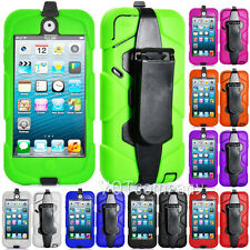 Armor Shock Proof Heavy Duty Case Impact Cover For Apple ipod Touch 5 5th Gen