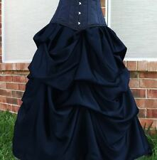Sale Gothic Steampunk Belle Skirt Victorian Bustle Skirt S-3XL ready to ship
