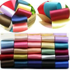 5 Yards Solid Color Fold Elastic Spandex Satin Band Lace Sewing Trim 25mm  GOCA