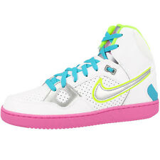 Nike Son of Force Mid Women's Shoes Retro High Top Trainers White Pink