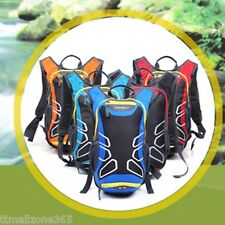 15L Cycling Bike Bicycle Backpack water bag Pack Outdoor Sports + Rain Cover
