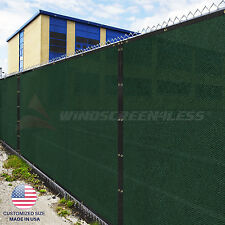 Customize Green 4' 5' 6' 8' Height Fence Privacy Wind Screen Mesh Outdoor Garden