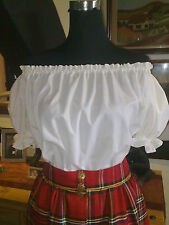 VICTORIAN/AMERICAN CIVIL WAR/PEASANT/GYPSY/THEATER  BLOUSE ALL SIZES & COLOURS