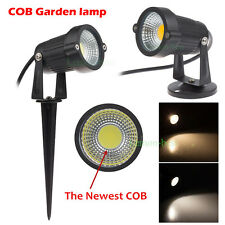 3W 5W Waterproof Outdoor COB LED Landscape Lighting Garden Wall Path Spot Light