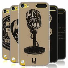 HEAD CASE POWER OF MUSIC SILICONE GEL CASE FOR APPLE iPOD TOUCH 5G 5TH GEN