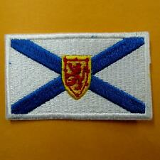 Flag Nova Scotia Canadian Province Iron on Sew Patch Applique Badge Embroidery