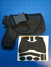 SW M&P Shield 9/40 Custom Kydex IWB Holster Laser Max or Crimson Trace + Grips!!