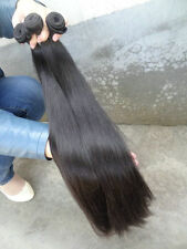 14-28 Brazilian Virgin straight Human Hair extensions Straight Remy Weft 100g