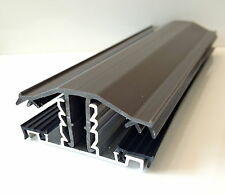 Snap-Down Glazing Bar For 10mm, 16mm, 25mm Polycarbonate Roofing Sheets