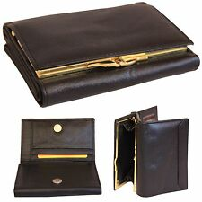 Lady Womens Lovely Leather Trifold handbag purse clutch wallets card holder