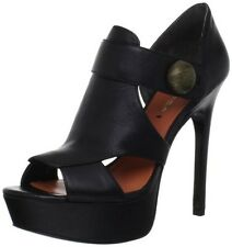 Via Spiga Womens Hartley Black Sandal