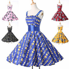 Retro Housewife Short VICTORIAN Vintage Style Swing 50s 60s Pin Rockabilly Dress