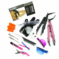 PROFESSIONAL HAIR EXTENSIONS FUSION HEAT CONNECTOR WAND IRON MELTING TOOLS KIT