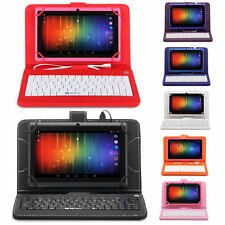 "iRulu Tablet New Multi-Color 7"" Android 4.2 16GB Dual Core&Cam WIFI w/ Keyboard"