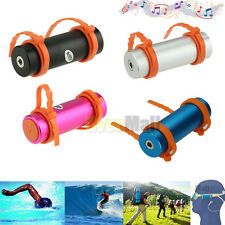 New 4GB Swimming Diving Water Waterproof MP3 Player FM Radio Earphone 4 Color