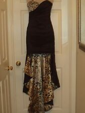 High-Low Prom Dresses Evening Party Gowns custom NEW WITHOUT TAGS