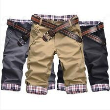 A US Mens Short Pants Summer Casual Sports Shorts Boys Cropped Trousers Fashion