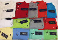 Polo Ralph Lauren SS Classic Cotton Mesh Polo Shirt $85-98 W/ PONY 14 Colors NWT