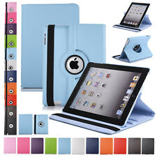 Strap Leather Swivel Case Cover Smart For Apple iPad 2 3 4 Air 5 6 Mini Gift New