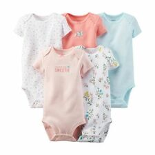 New Carter's 5 Pack Bodysuits Butterfly Floral NWT Size NB 3 6 9m 12m 18m 24m