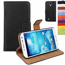 PU Leather Flip Stand Wallet Card Case Cover For Samsung Galaxy S4 Mini i9190