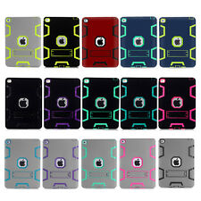 Shockproof Heavy Duty Rubber Stand Case Cover For Apple iPad & iPad Mini Retina