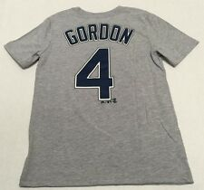 Kansas City Royals Official Majestic MLB Alex Gordon 4 Youth T-Shirt New