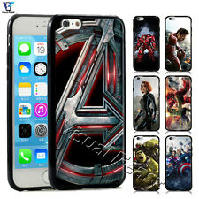 TPUPC Superhero Iron man The Avengers Hulk For Iphone&Samsung Phone Case Cover