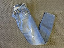 Abercrombie & Fitch Ripped Super Skinny Jeans, size 25/29