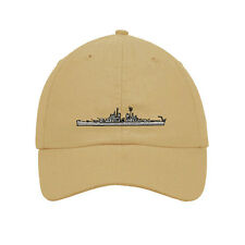 U S S Baltimore Embroidered SOFT Unstructured Adjustable Hat Cap