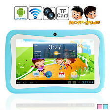 "Top1 7"" Tablet PC for Kids Children Google Android 4.4 4GB Dual Core & Cam US/CA"