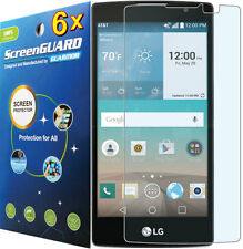 6x Clear LCD Screen Protector Guard Cover for LG Escape 2 (2nd Gen) H443 H445