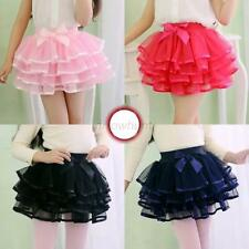 Girls Kids Baby Tutu Party Ballet Dance Wear Dress Skirt Pettiskirt Costume 1-8Y