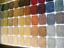 WALL TO WALL CARPET  - NYLON SAXONY ANY COLOR ANY SIZE I CAN MAIL SAMPLES!