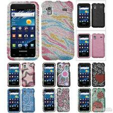 For SAMSUNG I927(Captivate Glide) Protector Case Cover Bling Rhinestones