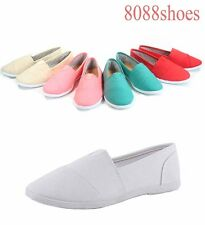 Women's Cute Casual Slip On Round Toe Flat Sandal Sneaker Shoes Size 6 - 10 NEW