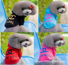 Dogbaby Small Dog Pet Hoodie Puppy Cat Coat Winter Warm hooded clothes clothing
