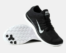BNIB Nike Free Flyknit 4.0 Black Running Trainer Shoes *RRP £110*