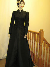 VICTORIAN / EDWARDIAN / STEAMPUNK OUTFIT / COSTUME / FANCY DRESS  (All BLACK)