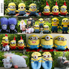 Despicable Me Minions Plush Toy Characters Soft Cuddly Stuffed Animal Doll NWT