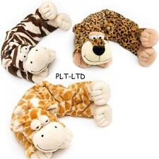 Wild Warmers Cozy Plush Wheat Bag Intelex Microwave Hot Water Bottle Neck New