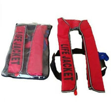 Common MANUAL INFLATABLE LIFE JACKET 150N BUOYANCY AID SAILING BOATING Preserver
