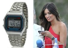 F-91W Fashion LED Digital Waterproof Bracelet Watch for Women Men similar CASIO