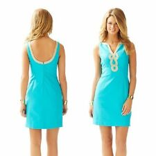 NEW 2015 Lilly Pulitzer JANICE SHIFT DRESS Sea Blue $188